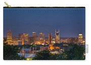 Nashville Cityscape 8 Carry-all Pouch