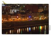 Nashville River Front By Night 1 Carry-all Pouch