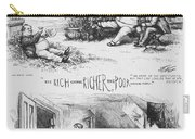 Nast: Tweed Ring Cartoon Carry-all Pouch