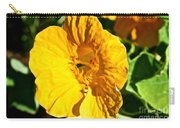 Nasturium In Yellow Carry-all Pouch