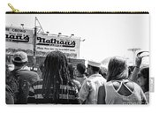 Nathan's Crowd In Coney Island 2 Carry-all Pouch