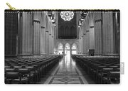 National Cathedral Interior Bw Carry-all Pouch