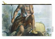 Native American Hunter Carry-all Pouch