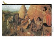 Native American Medicine Man Carry-all Pouch