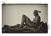 Native American Statue - Eakins Oval Philadelphia Carry-all Pouch