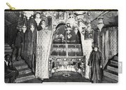 Nativity Grotto In 18th Century Carry-all Pouch
