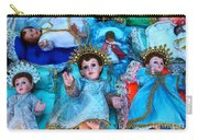 Nativity Scene Figures Carry-all Pouch