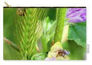 Natural Bouquet Carry-all Pouch