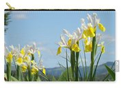 Nature Photography Irises Art Prints Carry-all Pouch