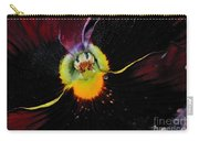 Nature's Amazing Colors - Pansy Carry-all Pouch