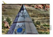 Navajo Trading Post Teepee Carry-all Pouch