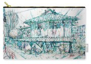 Navigli City Of Milan In Italy Portrait Carry-all Pouch