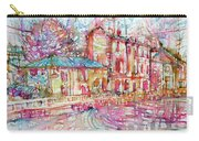 Navigli City Of Milan In Italy Portrait.1 Carry-all Pouch