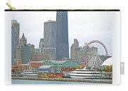 Navy Pier And Vicinity Carry-all Pouch