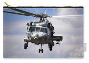 Navy Pilots In A Sh-60f Seahawk Conduct Carry-all Pouch