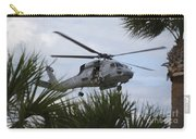 Navy Seals Look Out The Helicopter Door Carry-all Pouch