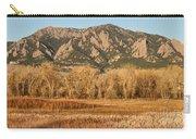 Ncar And Flatiron View Boulder Colorado   Carry-all Pouch