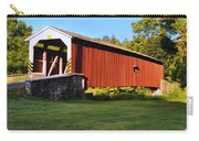 Neff's Mill Covered Bridge In Lancaster County Pa. Carry-all Pouch