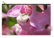 Nemesia Named Poetry Lavender Pink Carry-all Pouch