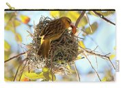Nesting Instinct Carry-all Pouch by Carol Groenen