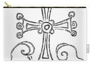 Nestorian Cross, 781 A.d Carry-all Pouch