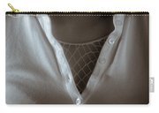 Netted Cleavage Carry-all Pouch