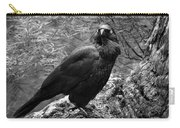 Nevermore - Black And White Carry-all Pouch