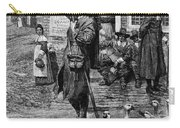 New England: Quaker, 1660 Carry-all Pouch by Granger