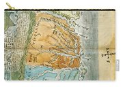New England To Virginia, 1651 Carry-all Pouch by Photo Researchers