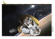 New Horizons Spacecraft At Pluto Carry-all Pouch