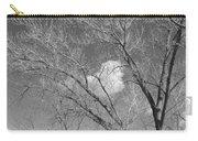 New Mexico Series - A Cloud Behind Black And White Carry-all Pouch