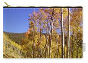 New Mexico Series - Autumn On The Mountain Carry-all Pouch