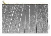 New Mexico Series - Leaf Free Black And White Carry-all Pouch