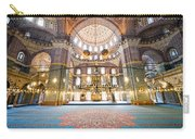 New Mosque Interior In Istanbul Carry-all Pouch