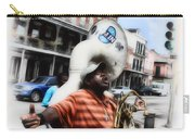 New Orleans Street Musician - Tuba Man Carry-all Pouch