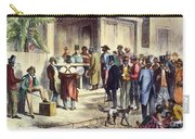 New Orleans: Voting, 1867 Carry-all Pouch