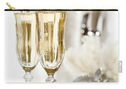 New Year Champagne Carry-all Pouch by Amanda Elwell