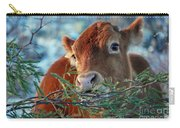 New Years Morning Cow Carry-all Pouch