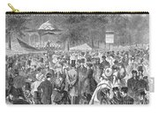 New York: Bandstand, 1869 Carry-all Pouch