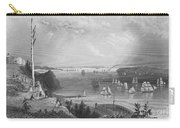 New York Bay, 1838 Carry-all Pouch