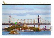 New York Bridge Water View Carry-all Pouch