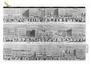 New York: Broadway, 1851 Carry-all Pouch