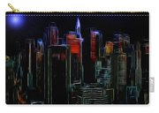 New York By Moonlight Carry-all Pouch