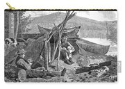 New York: Camping, 1874 Carry-all Pouch