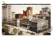 New York City Hall - 1900 Carry-all Pouch