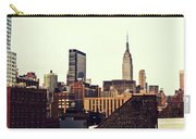 New York City Rooftops And The Empire State Building Carry-all Pouch