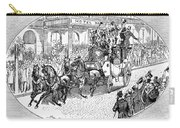New York: Coaching, 1876 Carry-all Pouch