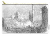 New York: Fire, 1853 Carry-all Pouch by Granger