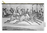 New York: Horse Race, 1845 Carry-all Pouch