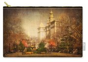 New York In April Carry-all Pouch by Svetlana Sewell